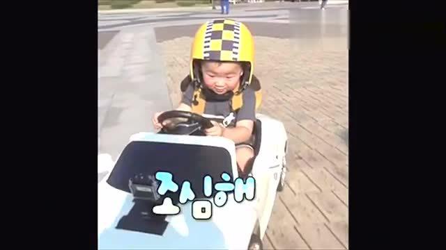 韩国小萌娃宋民国 好可爱的小孩