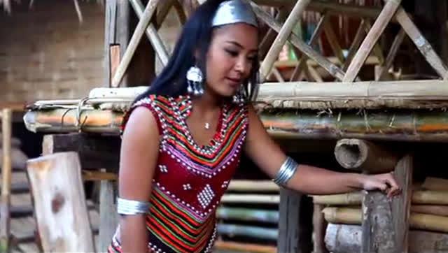 佤族歌曲《月亮里的阿妹》