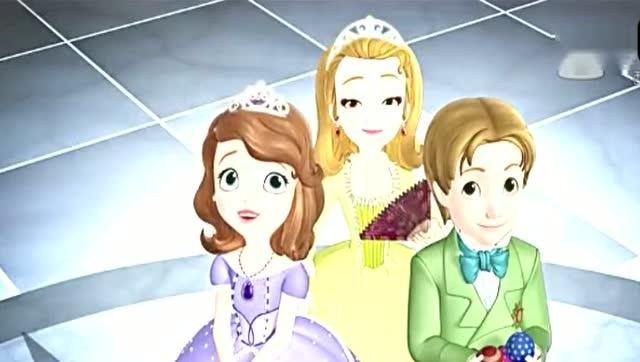 小公主苏菲亚:苏菲亚和安柏弄雕像,哇 好厉害