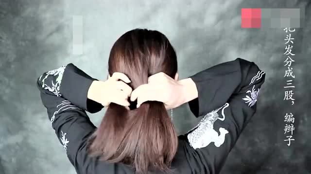 发簪发型 短发汉服发型 汉服古风发型 步摇发型