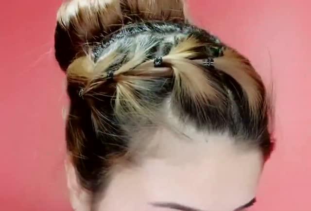过年就应该这样扎头发,好看又有气质,看一遍就学会了!图片