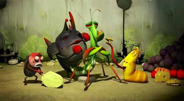 爆笑虫子: 螳螂