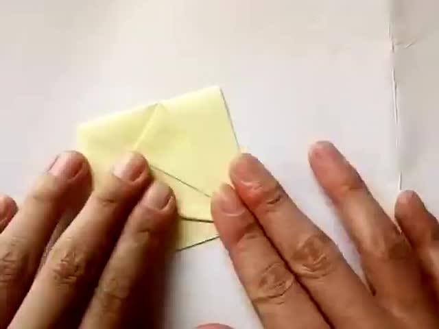 手工折纸 最常见千纸鹤简单易学的折法 留着教小孩