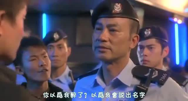 香港古惑仔嚣张闹事,任达华出面霸气教训古惑仔不敢吭声!