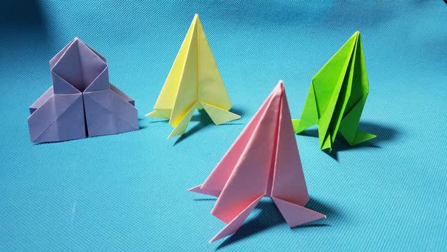 折纸王子教你折纸火箭3 儿童折纸大全