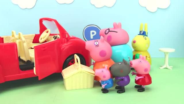 小猪佩奇-玩具动画动物园