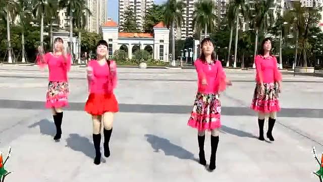 可爱玫瑰花广场舞 无理取闹 32步现代舞