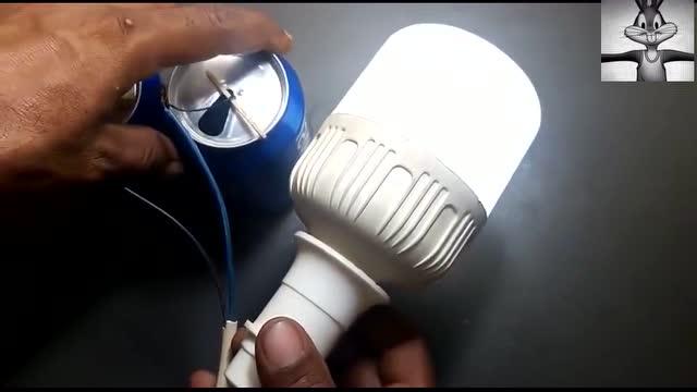 有趣的科学实验-用柠檬发电 能带动灯泡