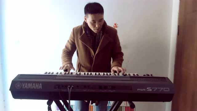 电子琴演奏又见山里红