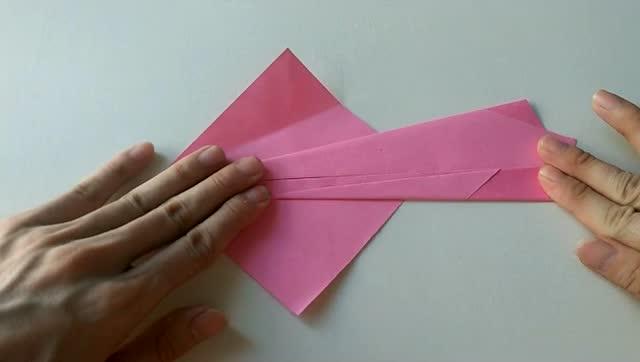 折纸大全 教你折凤凰 简单一看就会折纸视频教程