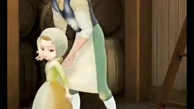 《小公主苏菲亚》国王带王后和安柏公主体验生活,虽然
