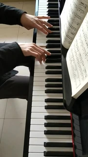 《平凡之路》(钢琴独奏)图片