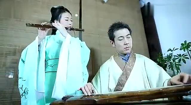 笛子古琴埙演奏《寒梅著花未》--戏曲视频-原札记妆古琴图片