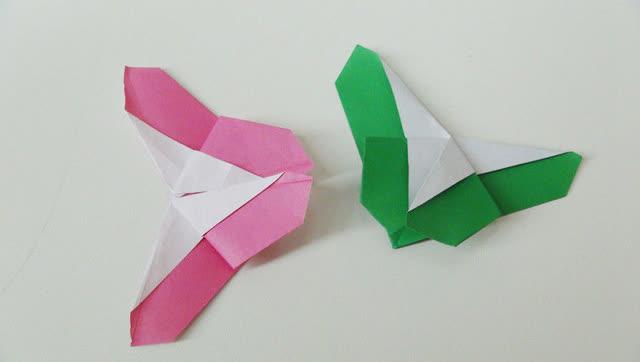 小爱的折纸 蝴蝶书签