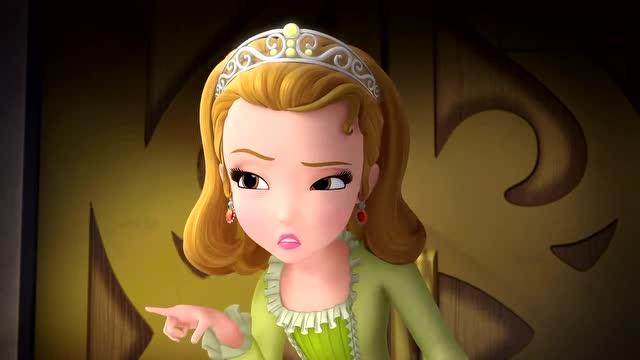 苏菲亚小公主:安柏发现苏菲亚能和动物说话,开始嫉妒了