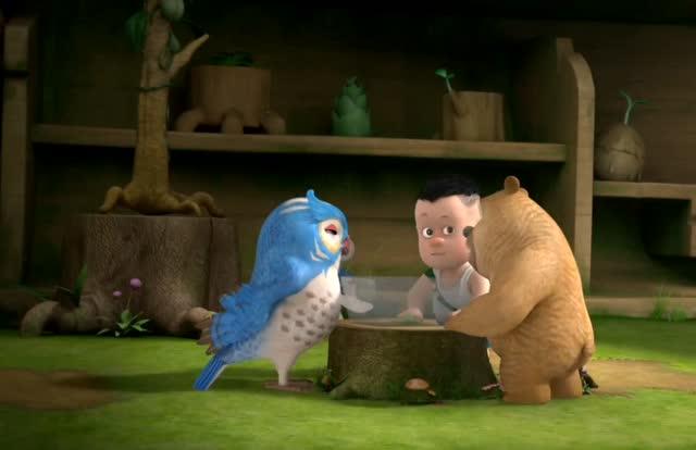 熊熊乐园:熊二是最爱学习的好学生