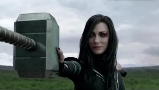 雷神姐姐_雷神在他姐姐面前简直就是战五渣,这还玩个锤子啊!