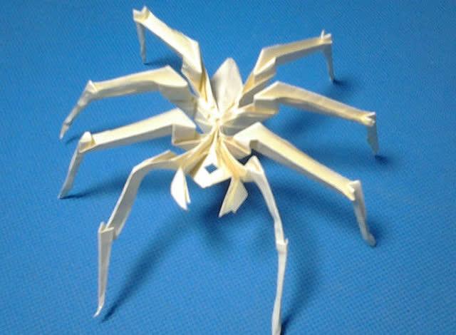 折纸王子教你折蜘蛛 上