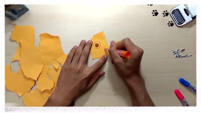 意小外第五集 撕纸动物园