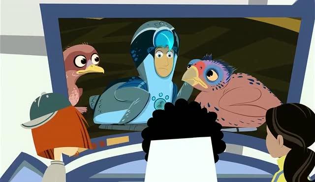 动物兄弟:动物兄弟马丁变成了伯劳鸟的蛋宝宝,帮助其他小鸟破壳