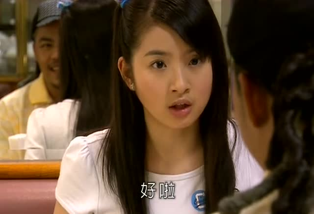 袁湘琴犯花痴的样子好可爱,非主流学长都被她打败了