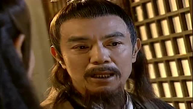 《绝代双骄》邀月命令江别鹤向慕容家退婚,江别鹤口服