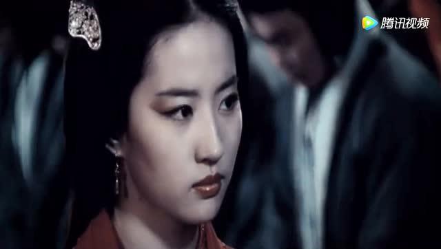 曝古装美女刘亦菲《铜雀台》绝美貂蝉剧中,扮相仍然酷似小龙女