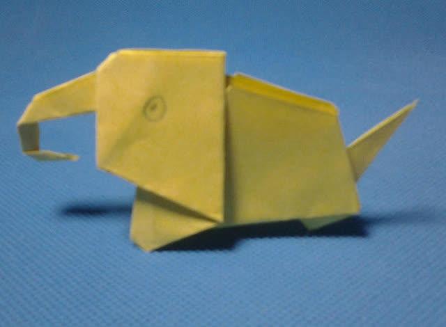折纸王子教你折大象 第二款 儿童折纸大全