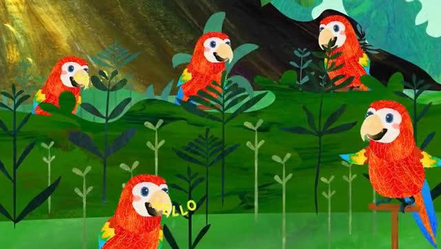 鸟儿唱歌the bird song 英文儿歌童谣