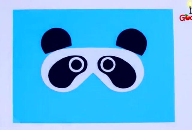 教你制作属于自己的熊猫眼罩