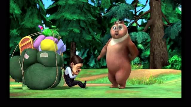 熊出没:母熊要来森林度假,光头强乔装成人妖来接驾