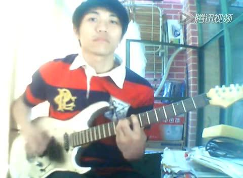 电吉他弹奏——好想大声说爱你