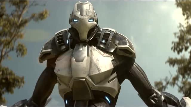 这外星机器人威力很猛,连狙击枪的射击都挡得住