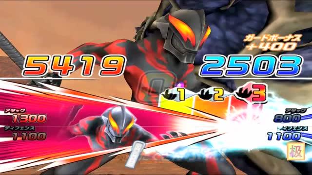 大怪兽格斗第一季13_极速游戏解说 第三十四期贝利亚vs宇宙有翼骨兽《大怪兽格斗dx》