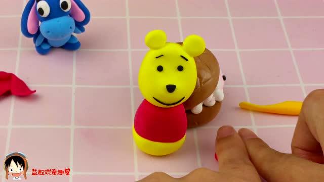 超轻粘土手工diy小熊维尼教程 手把手教你制作迪士尼卡通人物角色