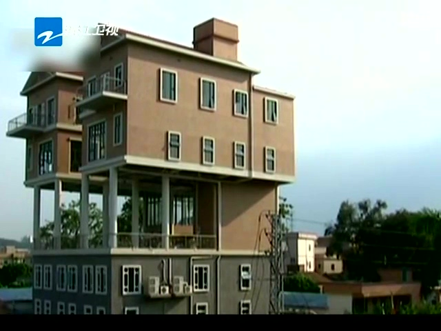 上海:小区楼顶违建鸽子别墅