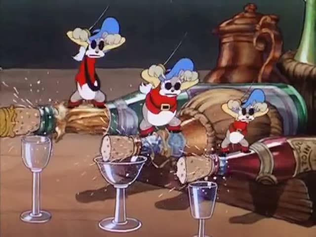 鹅妈妈童谣之三只瞎老鼠
