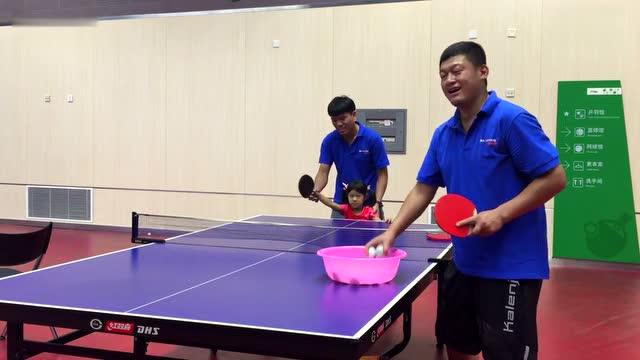 牛芳园的乒乓球训练课-体育-3023宣言-302越野赛参赛视频图片