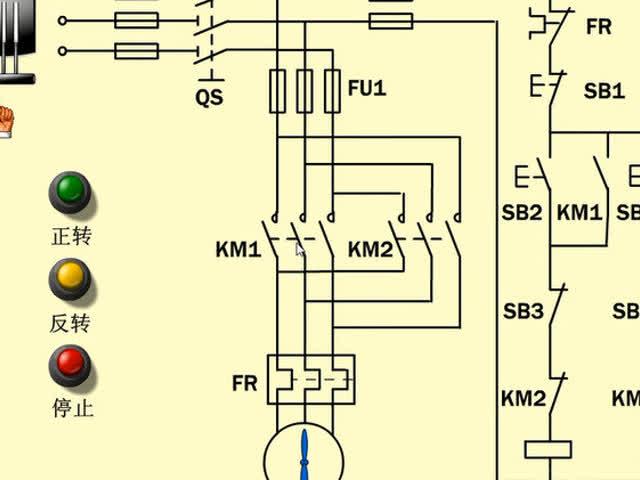 讲解:电动机正反转控制原理
