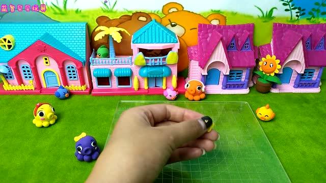 幼儿园彩泥手工 小狮子 亲子游戏 彩泥课堂