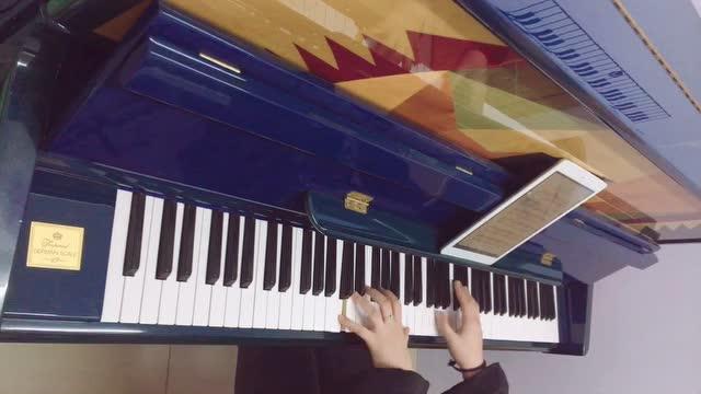 《恋与制作人》钢琴翻弹