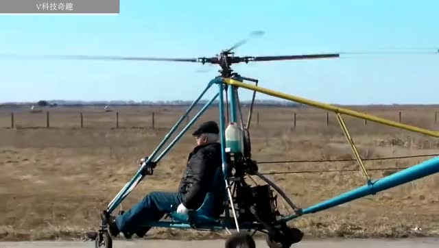 国外牛人自制的载人飞行器!试飞结果超出了我的想象图片