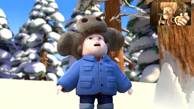 熊熊乐园:光头强小时候其实挺可爱的呦