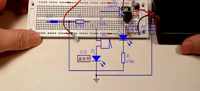 cd4511逻辑笔电路图