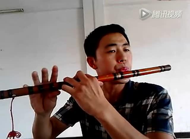 杨明笛子独奏《妈妈的吻》