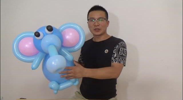 水晶气球 气球造型--大象