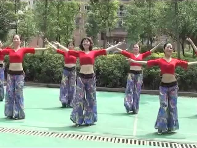 周思萍广场舞我愿_周思萍广场舞系列 我愿