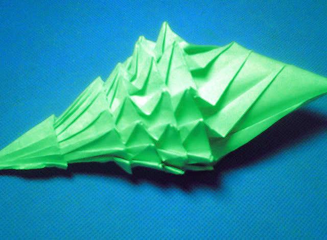 折纸王子教你折华丽海螺 上