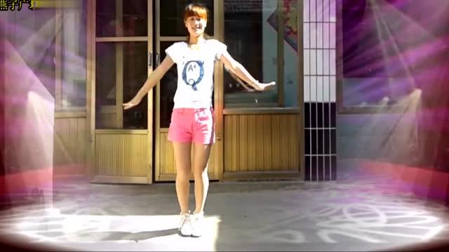 燕子广场舞《独一无二》简单现代舞 回味老歌 好听图片
