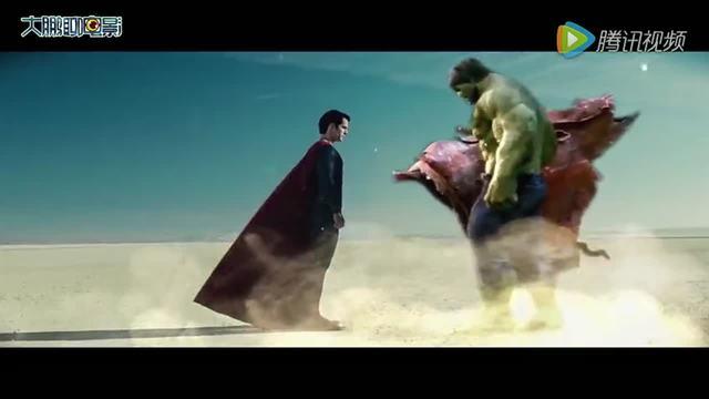 绿巨人拔牙,蝙蝠侠超人创意橡皮泥动画片